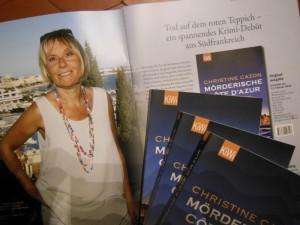 Voilà! Das erste Buch ist da !!!